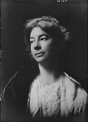 Sara Teasdale.  Public Domain Image .