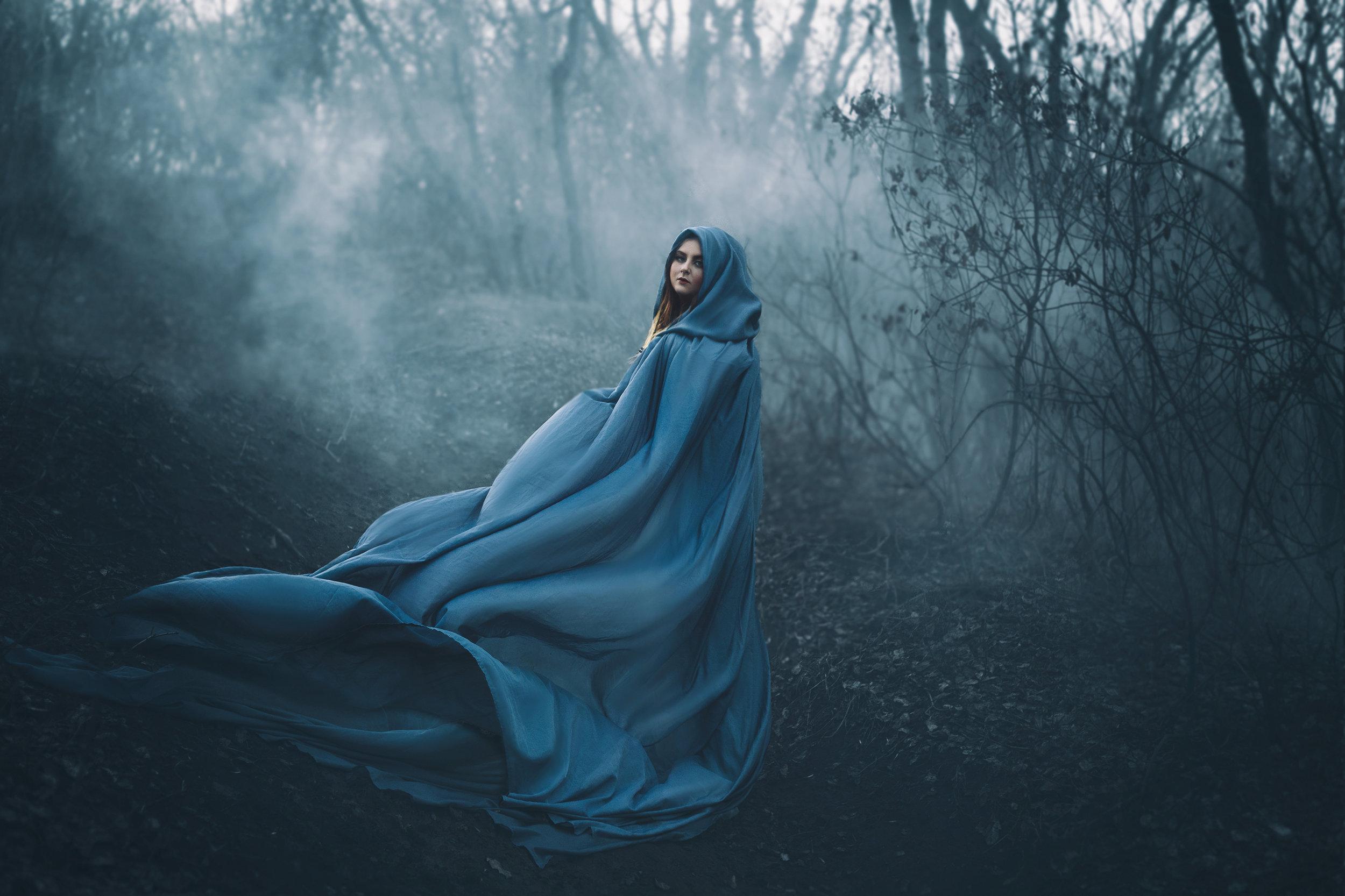She is mystical -