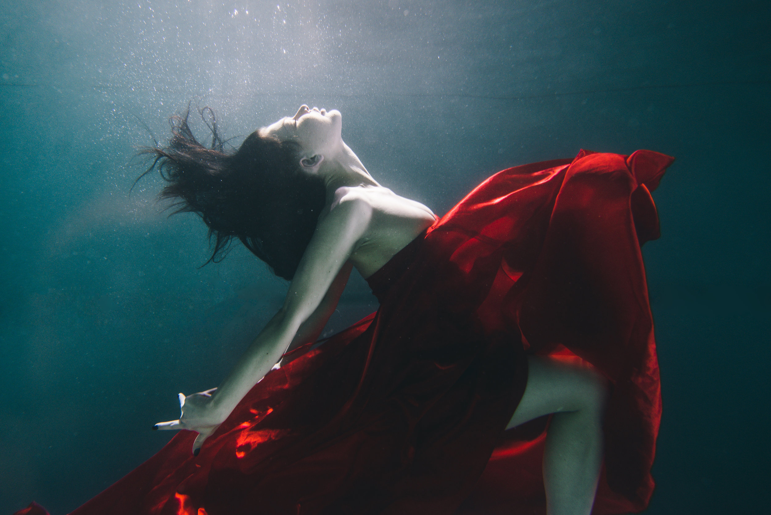 She is watery depths -