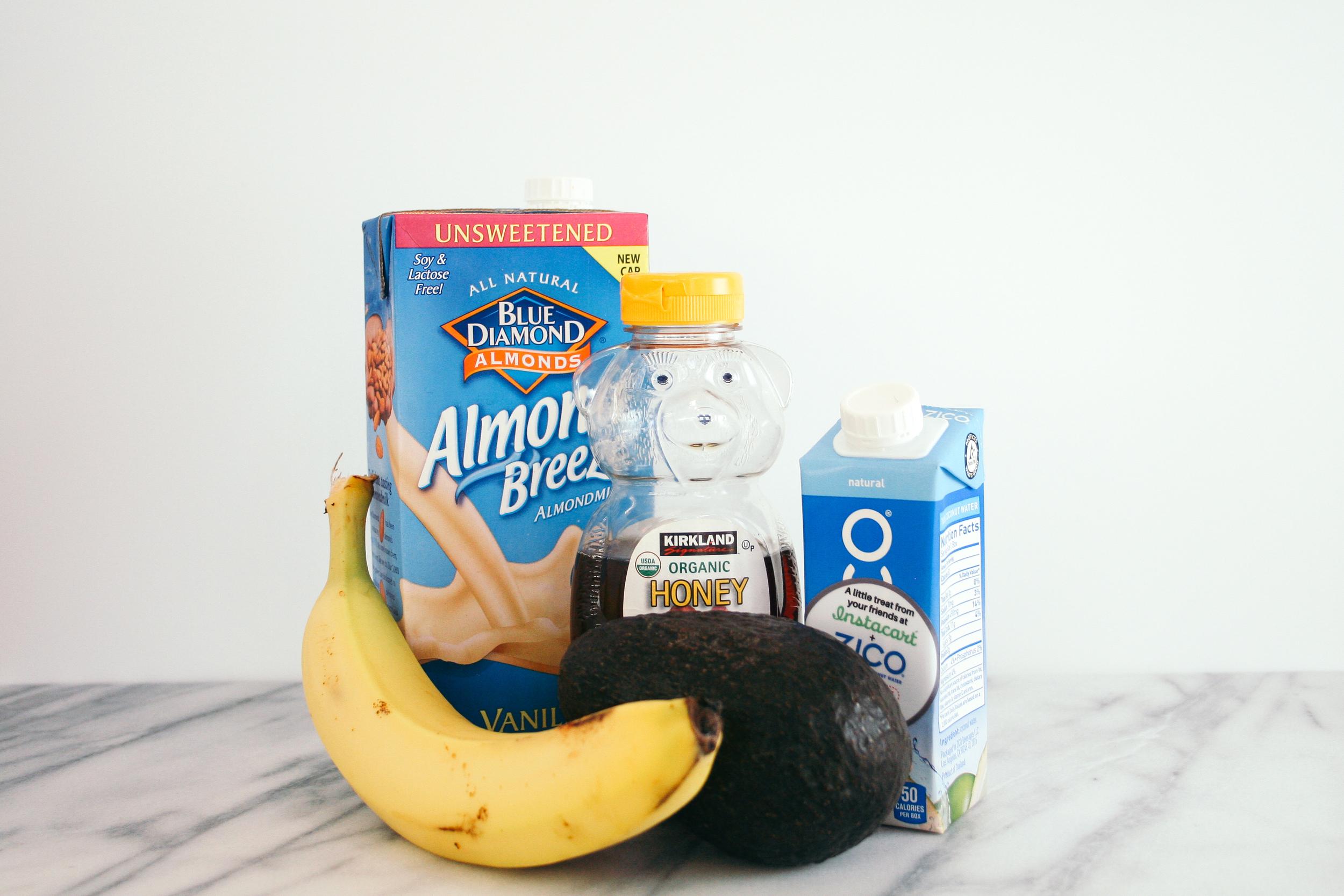 The City Skillet | Banana Avocado Smoothie