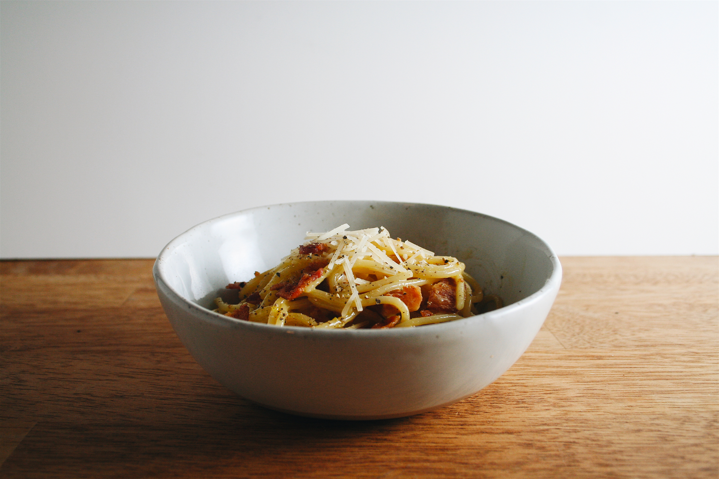 The City Skillet | Easy Spaghetti Carbonara
