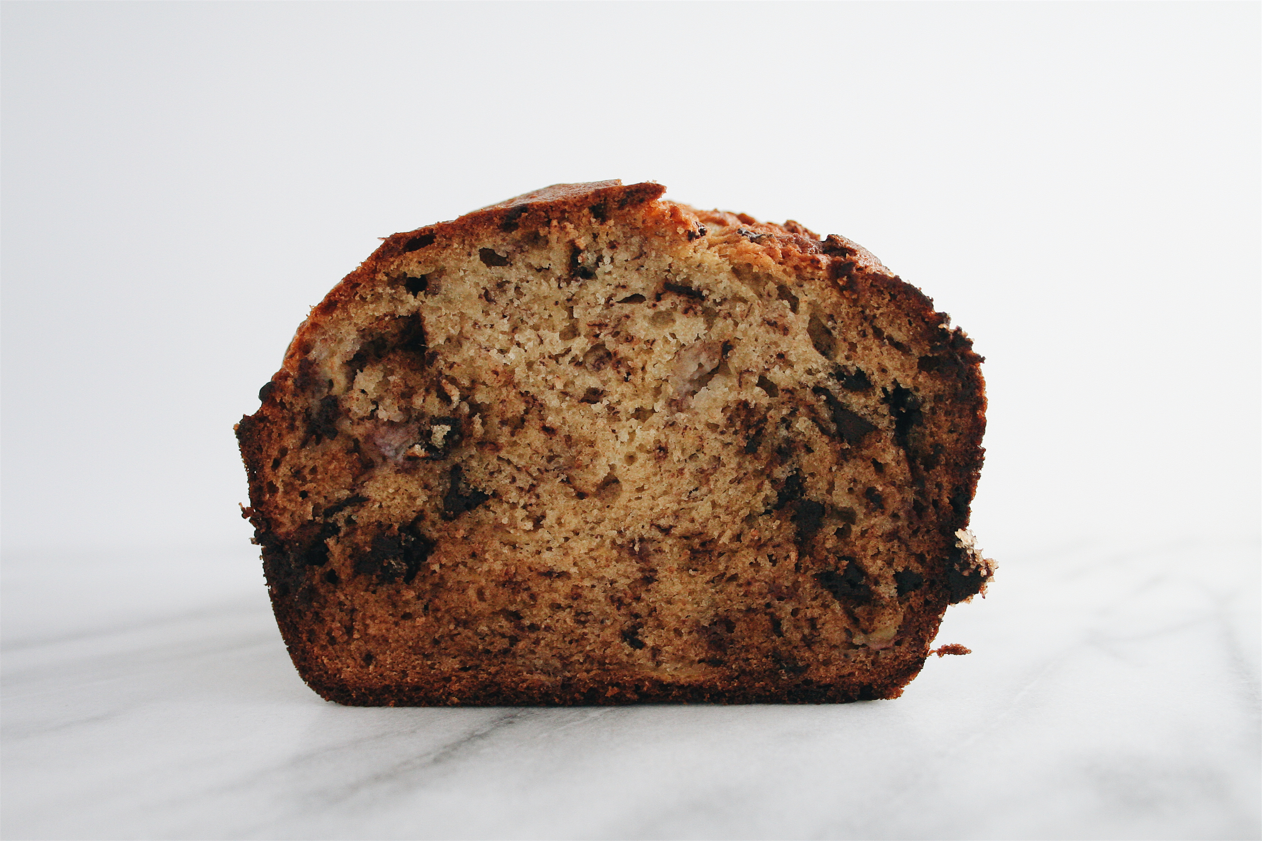The City Skillet | Dark Chocolate Chip Banana Bread