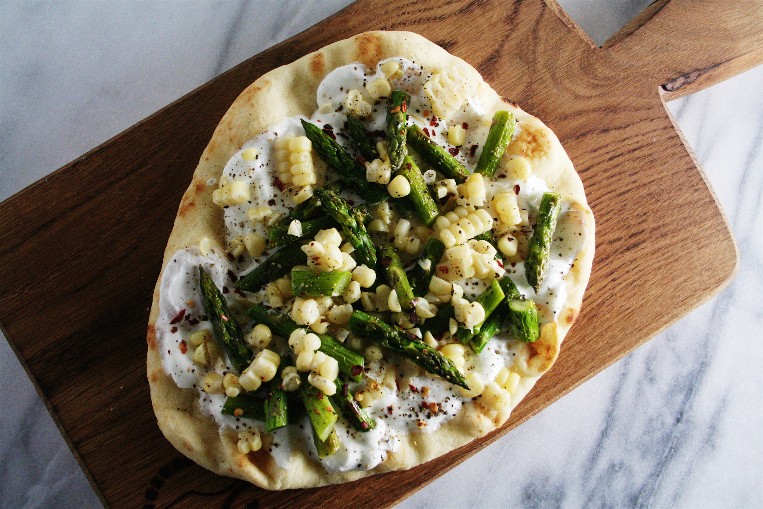 The City Skillet | Summer Vegetable Flatbread