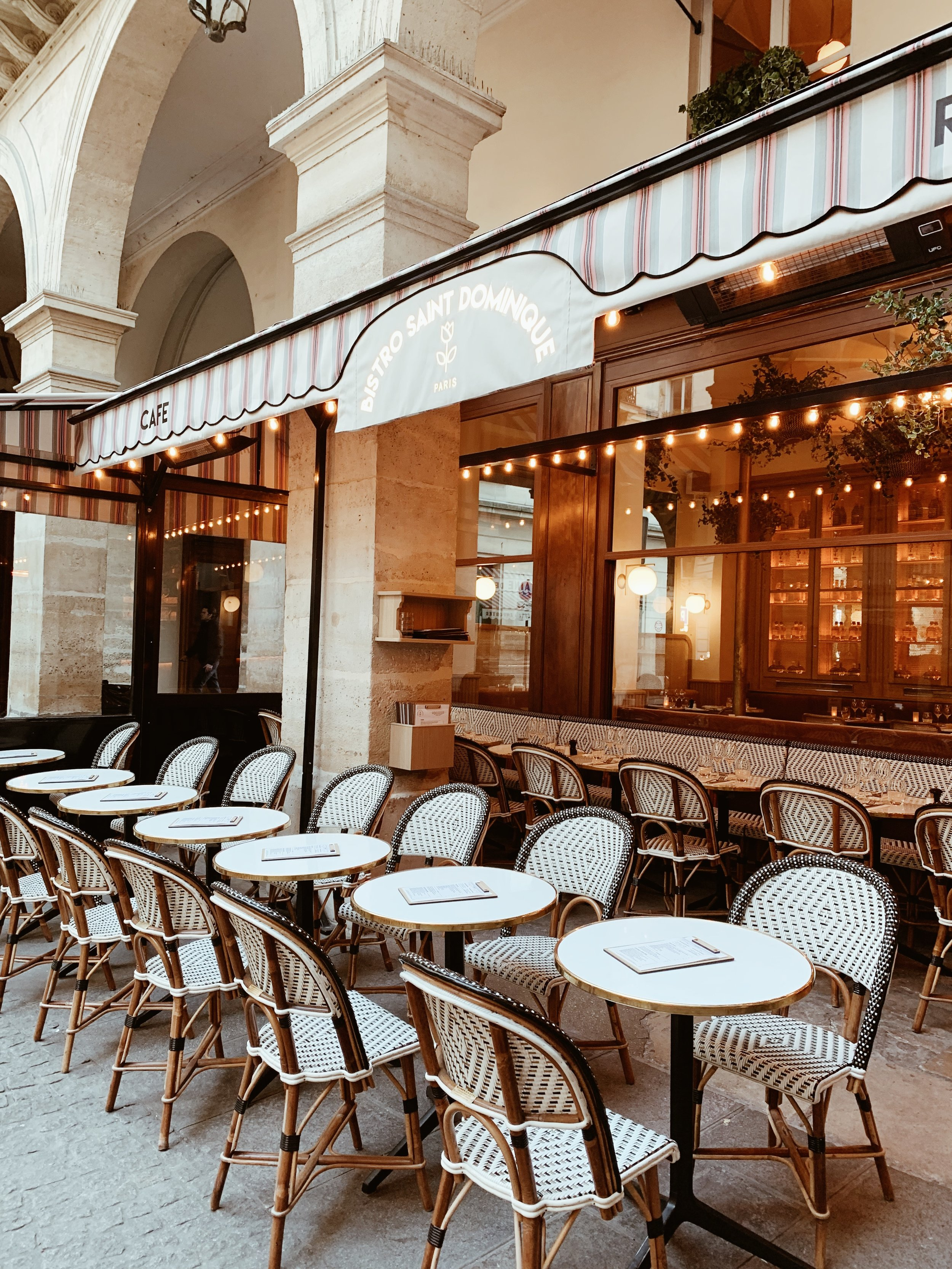 My favorite part of Paris is all the cafes, each as good as the next //  Bistro Saint Dominique