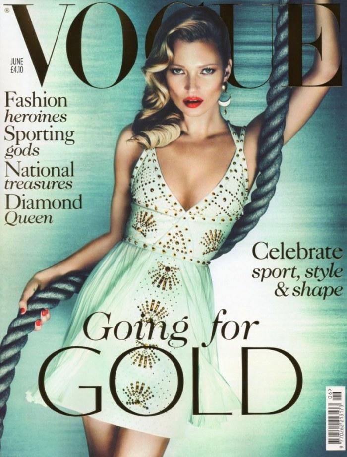 Kate Moss Vogue UK June 2012