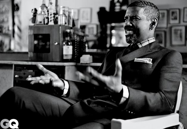 Denzel Washington GQ October 2012