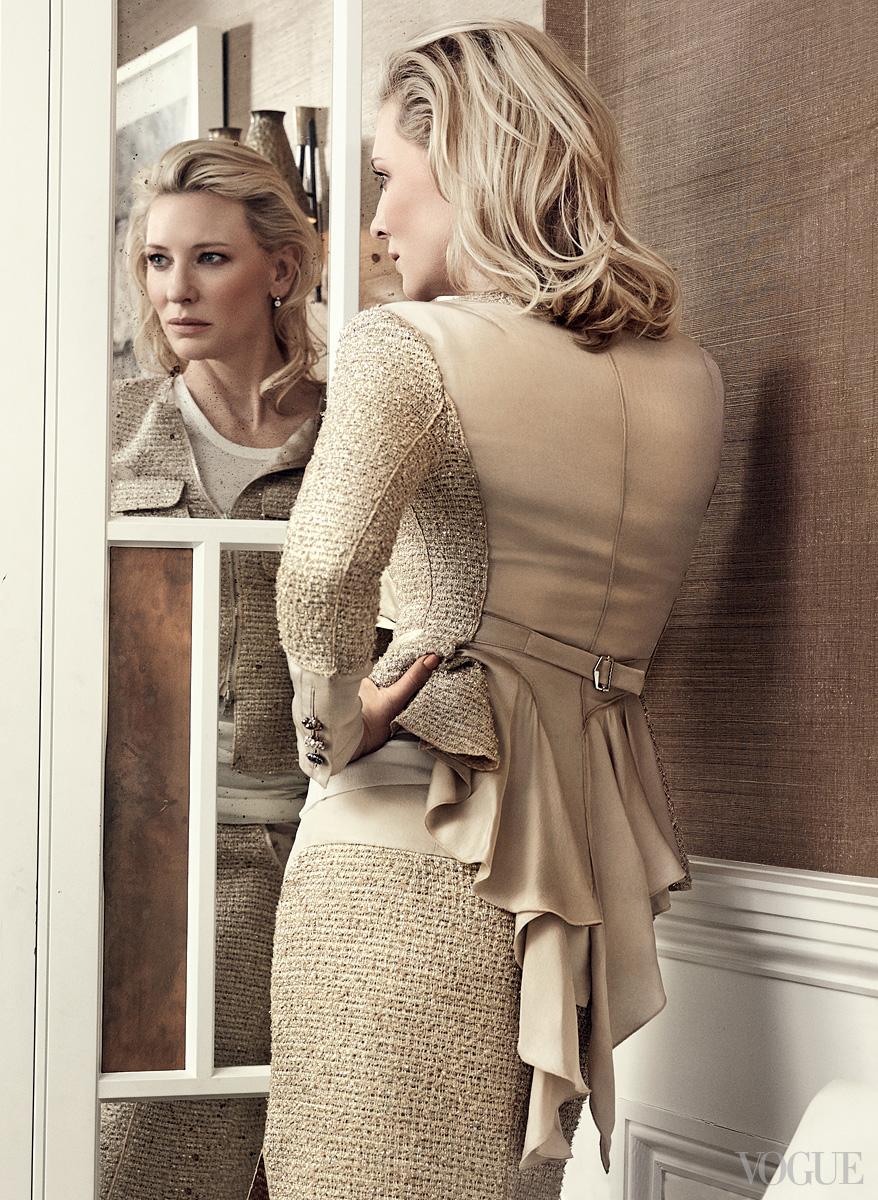 Cate Blanchett, Vogue US January 2014