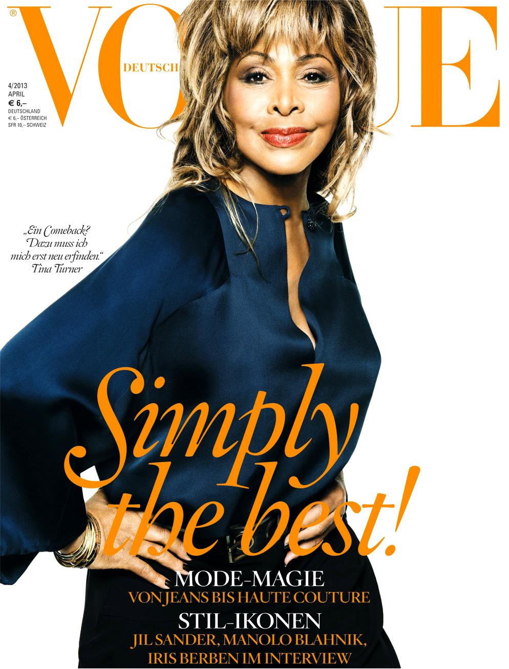 Tina Turner for Vogue Germany
