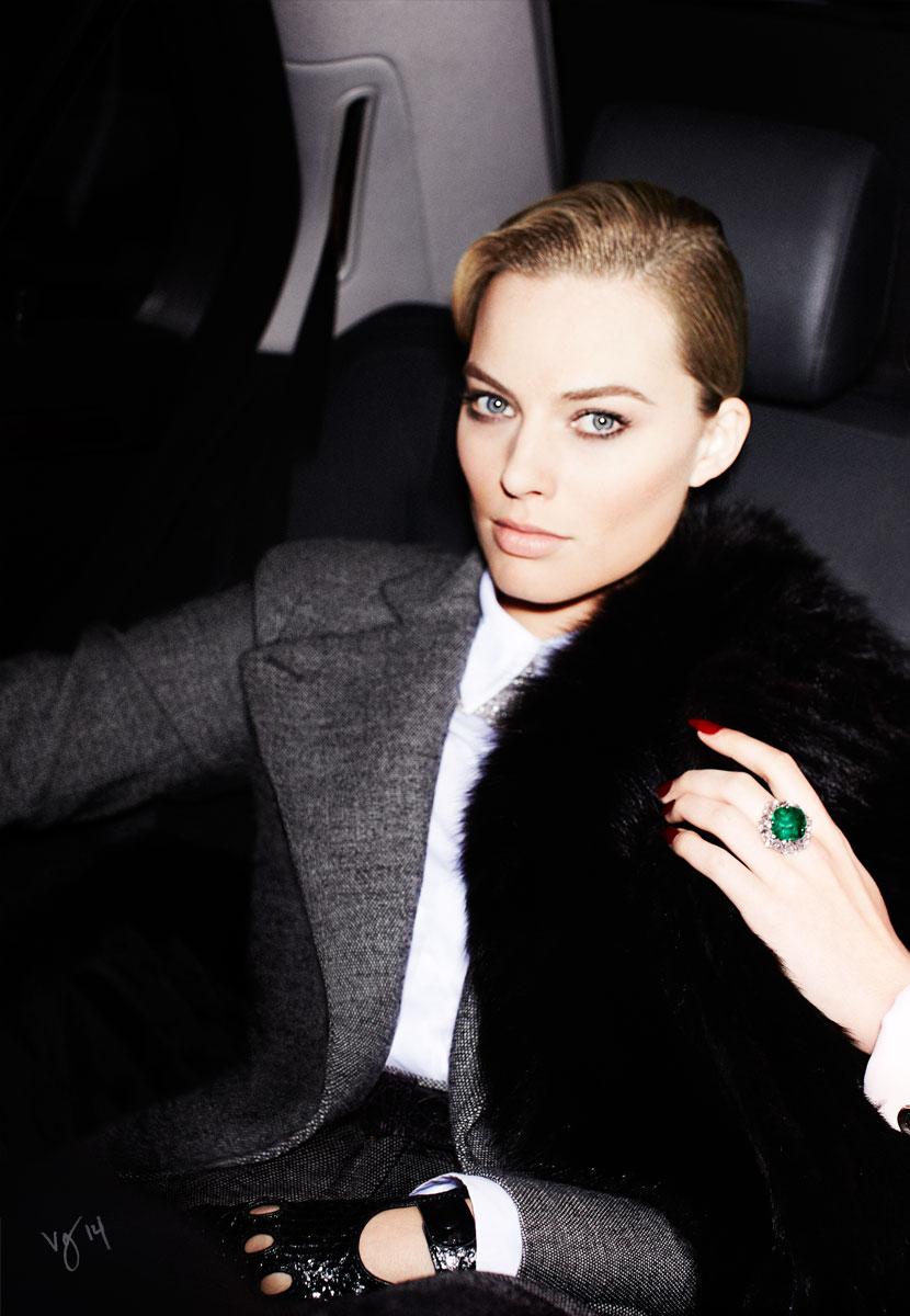 Margot Robbie for Violet Grey