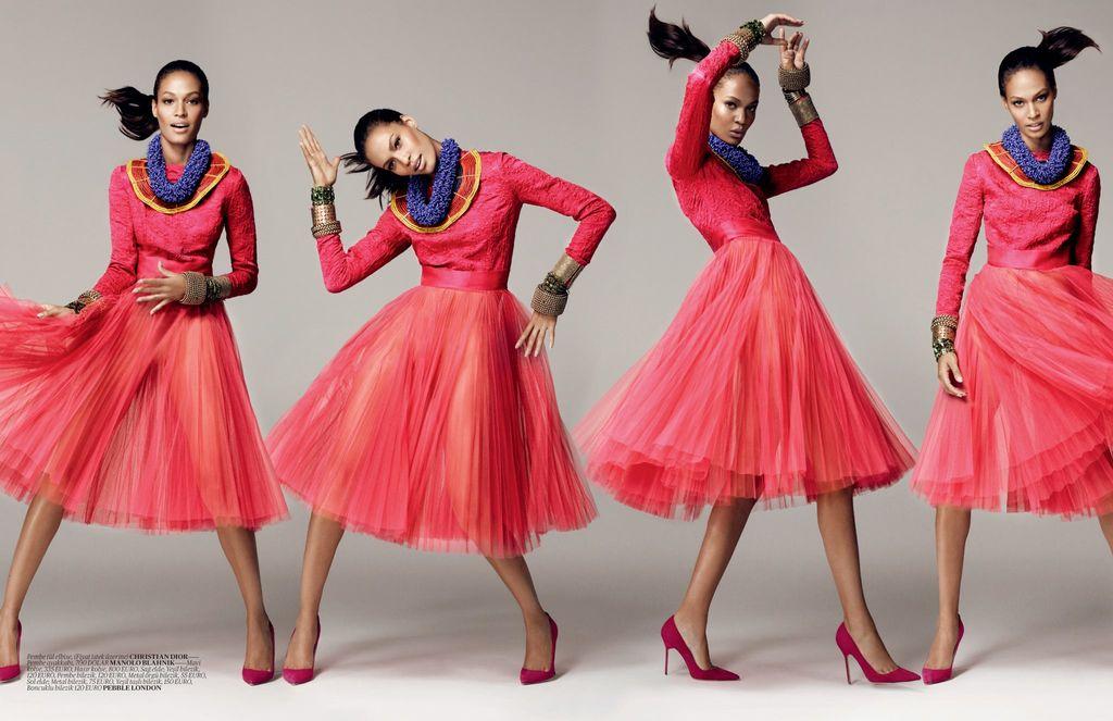 Joan Smalls Vogue Turkey December 2012