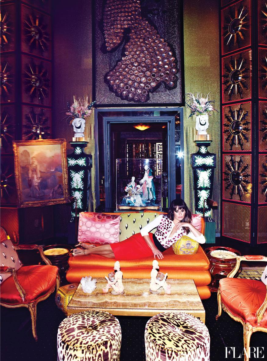 Lea Michele, Flare Magazine January 2013
