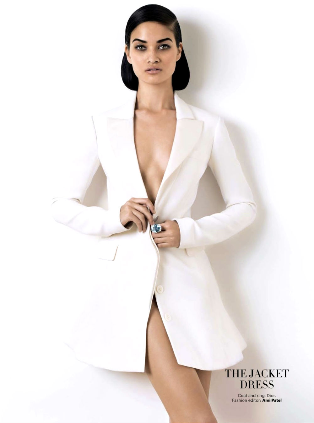 Shanina Shaik for Harper's Bazaar India