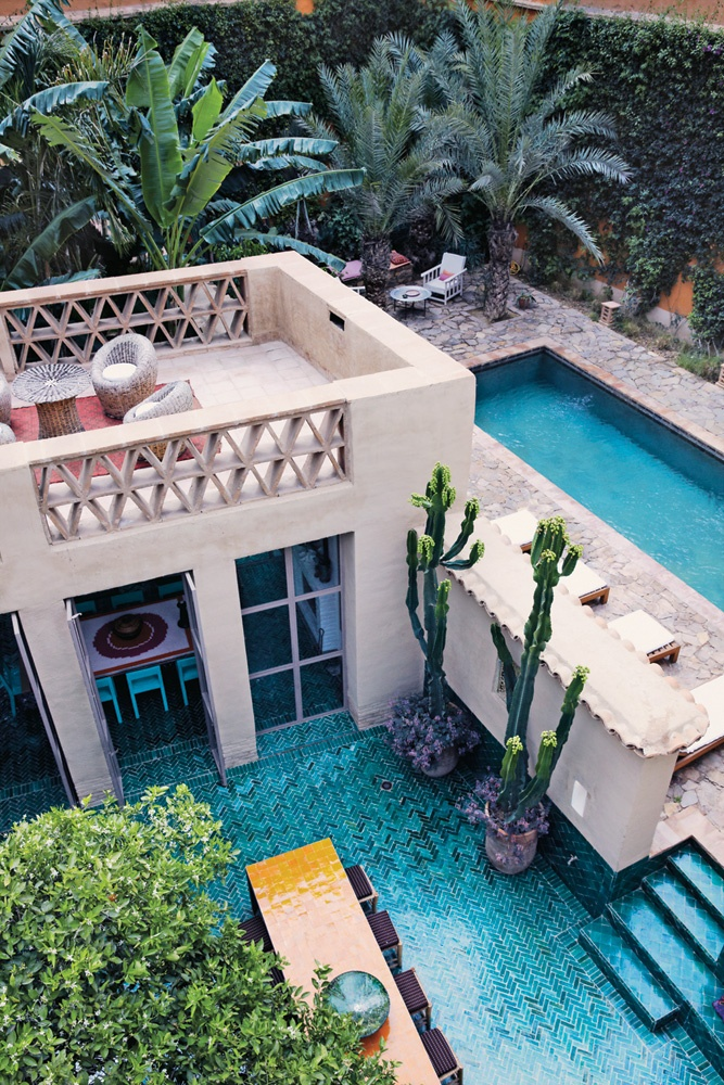 François Gilles' home in Taroudant, Morocco. via Lost in Time, NYT