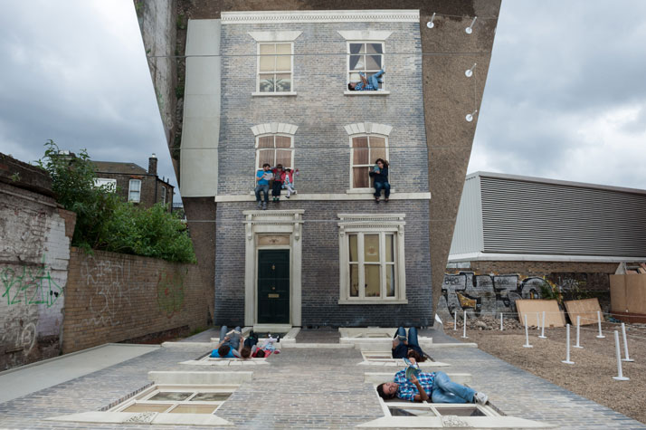 Dalston House by Leandro Erlich #art