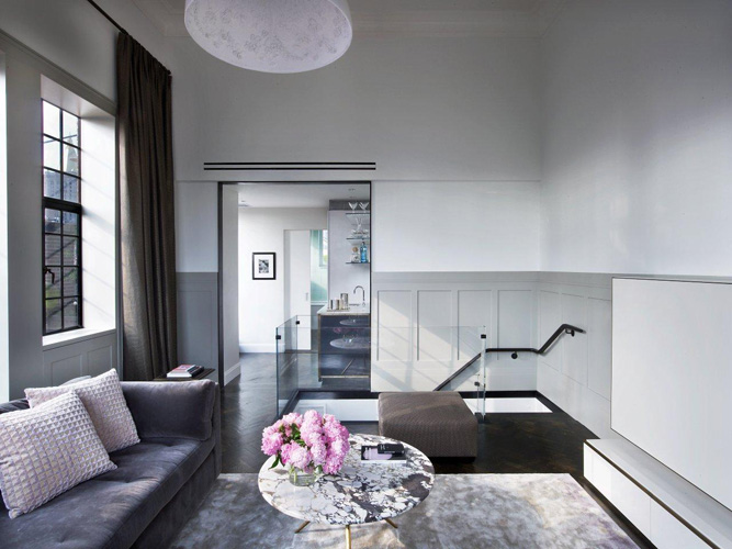Manhattan Triplex by Sara Story #interiors