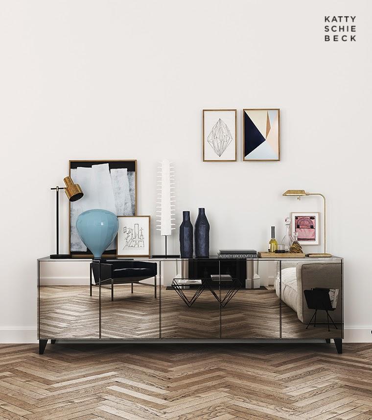 A Minimalist Apartment by Katty Schiebeck