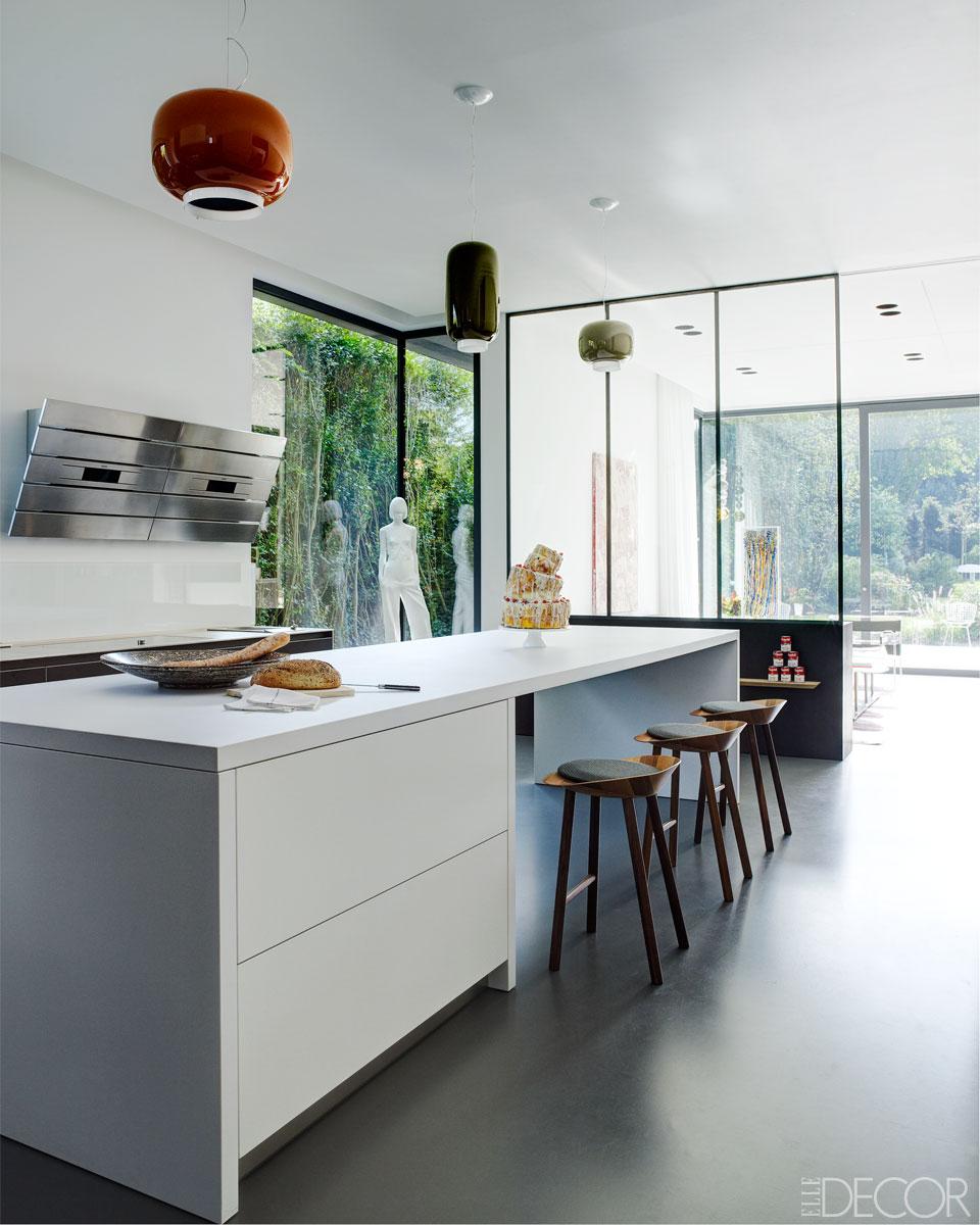 Modern home by architect Frédéric Haesevoets
