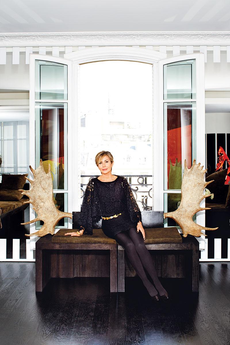 Carmen Busquets's pied-à-terre via Harper's Bazaar