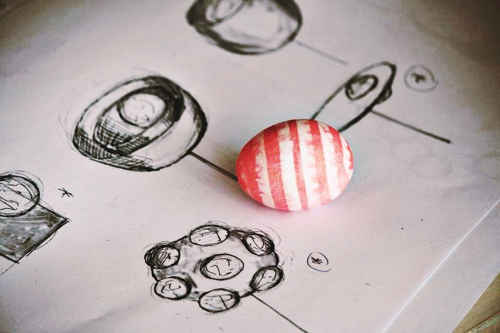Kelly Wearstler Easter Eggs
