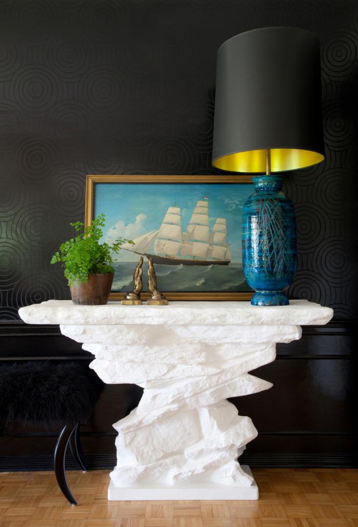 Modern Glamour home by Wendy Schwartz