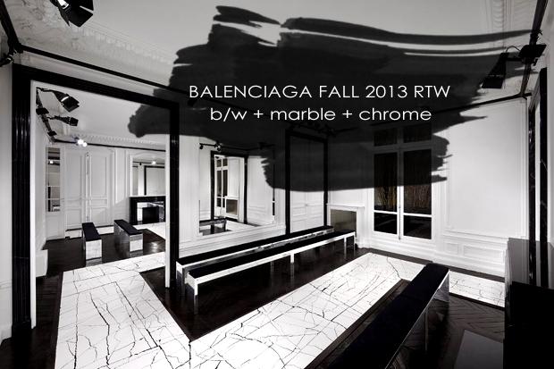 Runway to Home, Balenciaga Fall 2013 RTW