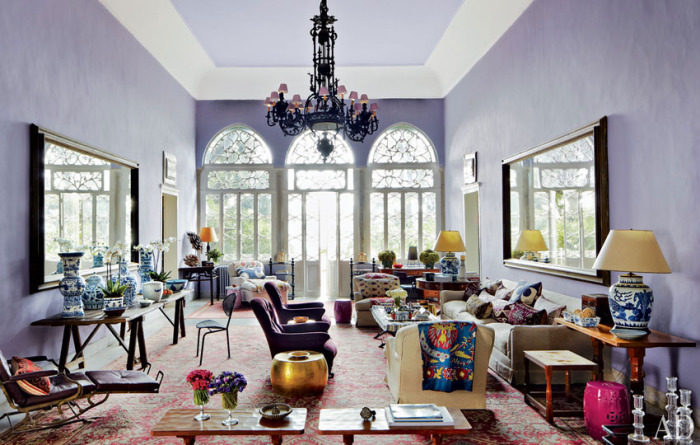 Global Lilac Living Room, May Daouk