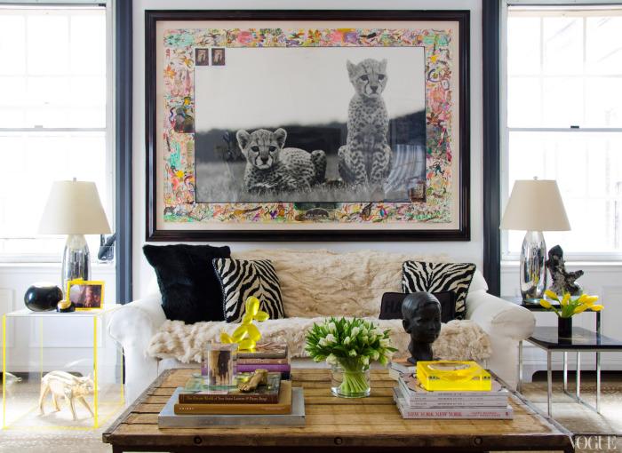 Nicole Henley Mellon Apartment on Vogue.com
