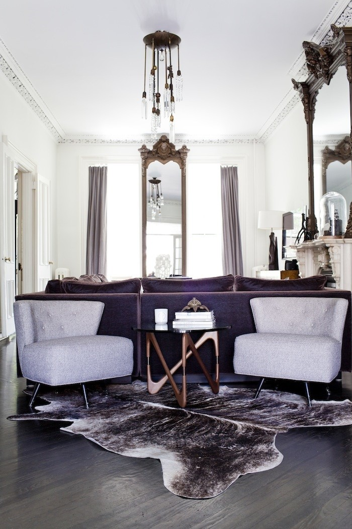Michelle James' Brooklyn Townhouse #interiors