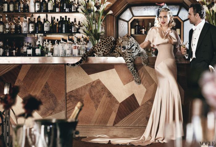 Scarlett Johansson Vogue Magazine