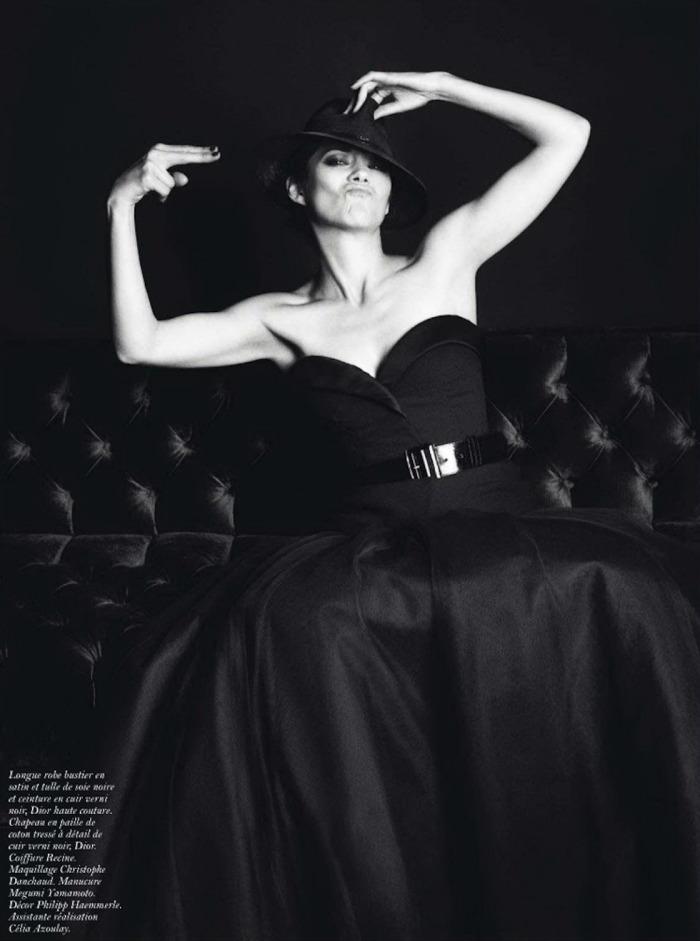 Marion Cotillard Vogue Paris August 2012