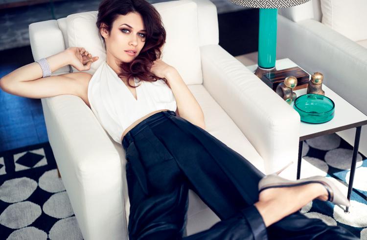 Olga Kurylenko for Vogue Ukraine