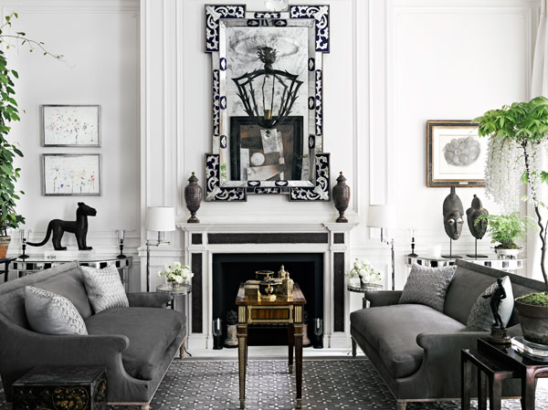 Harry Slatkin's living room #interiors