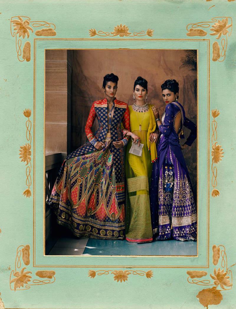 'Rites of Passage' via Vogue India