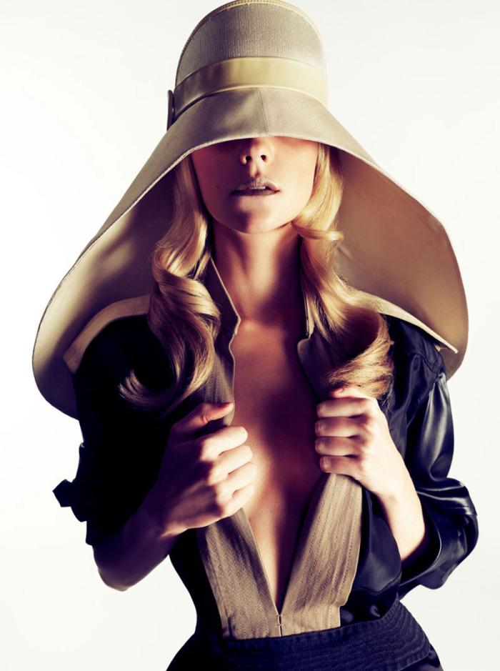 Madame Figaro Balenciaga Hat Spring 2012
