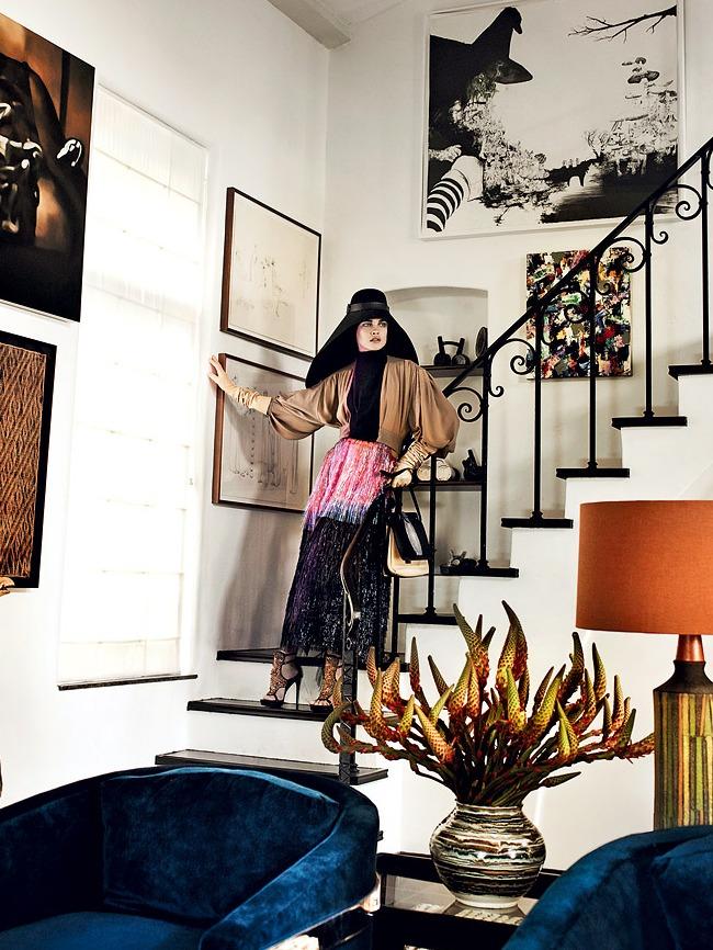 Vogue Balenciaga Hat Spring 2012