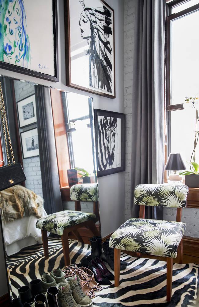 Jenna Snyder-Phillips' apartment via Domino Magazine