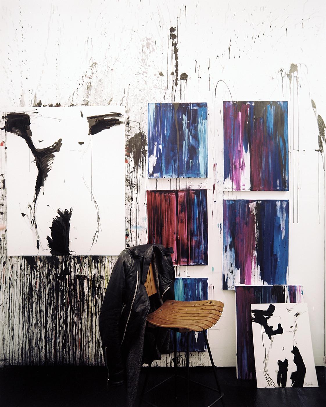 Jenna Snyder-Phillips' studio via Lonny Magazine