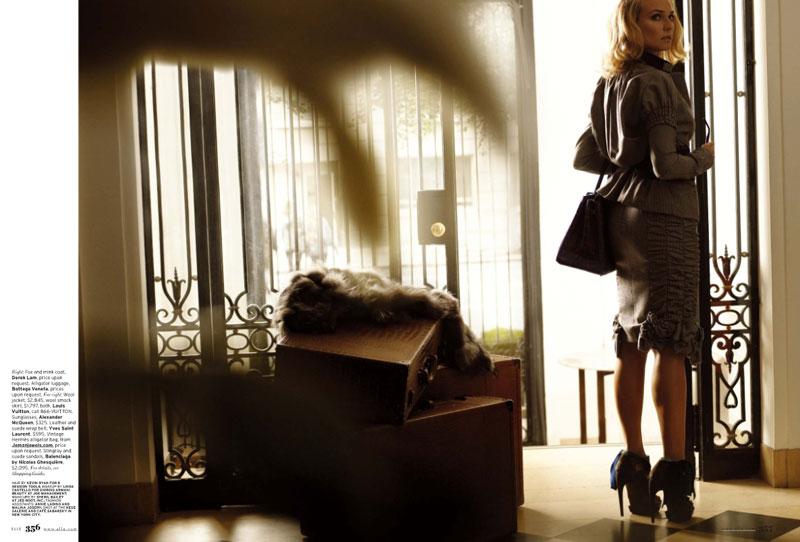 Diane Kruger Elle October 2009