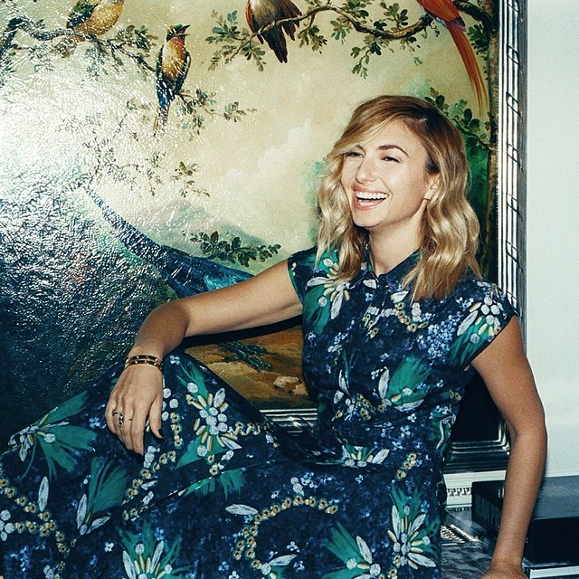 Nasiba Adilova in Mary Katrantzou