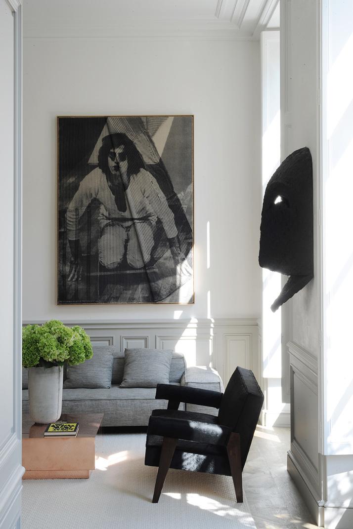 Paris Apartment by Joseph Dirand