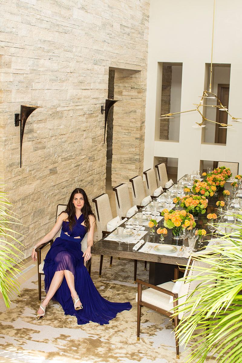 Rochelle Gores Fredston's Beverly Hills Home