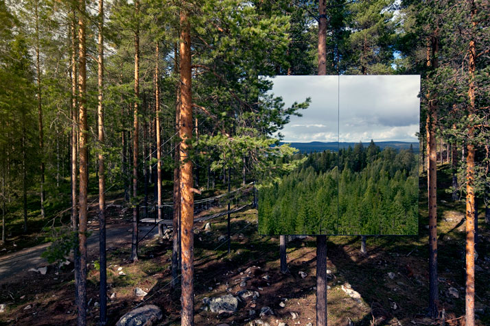 The Mirror Cube, Treehotel