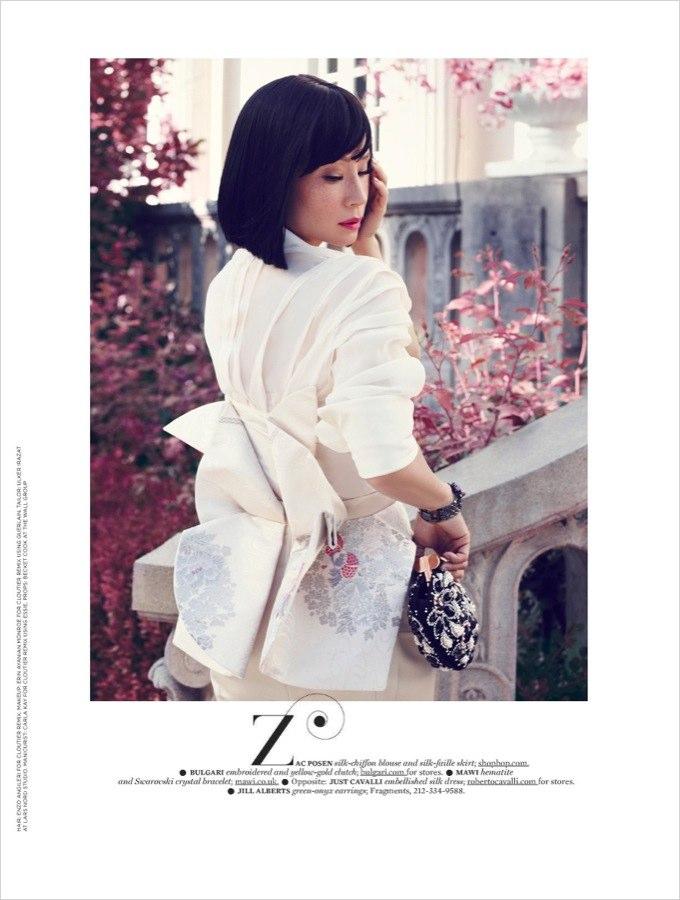 Lucy Liu More Magazine
