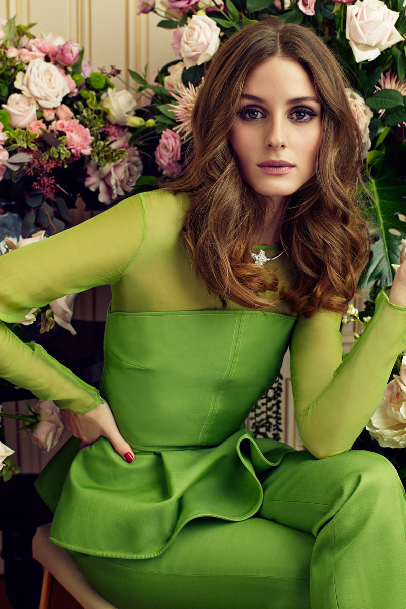 Olivia Palermo for Marie Claire Spain