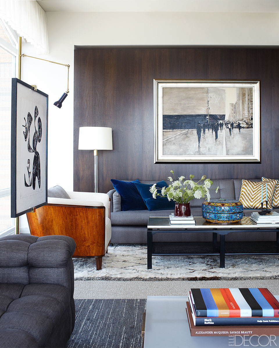Jimmie Johnson's New York Apartment by Shawn Henderson #interiors