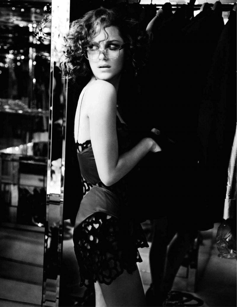 Marion Cotillard by Ellen von Unwerth