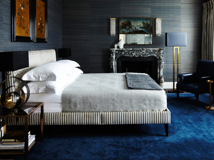 Masculine Glamour, London Townhouse