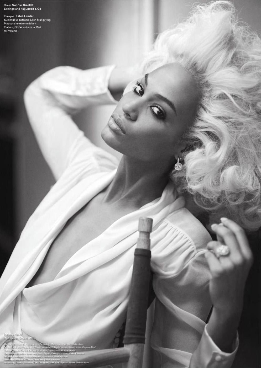 Joan Smalls for V Magazine 2011