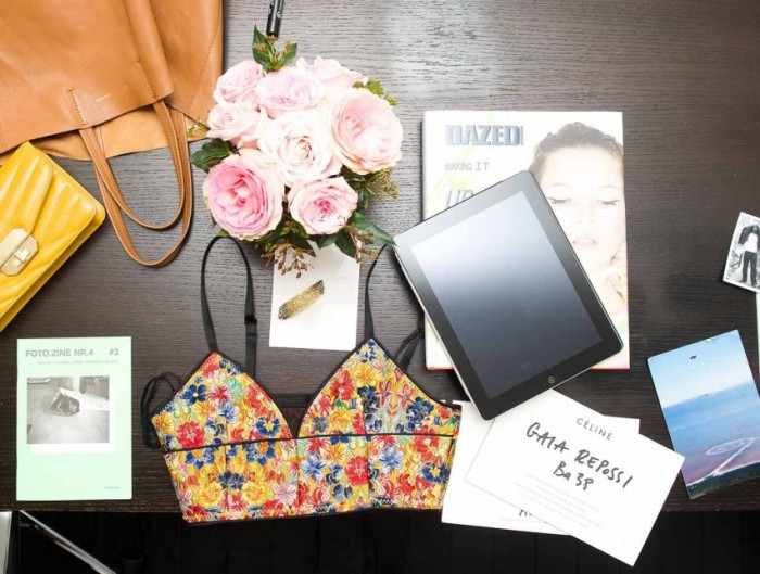 iPad and chic stuff of Gaia Repossi