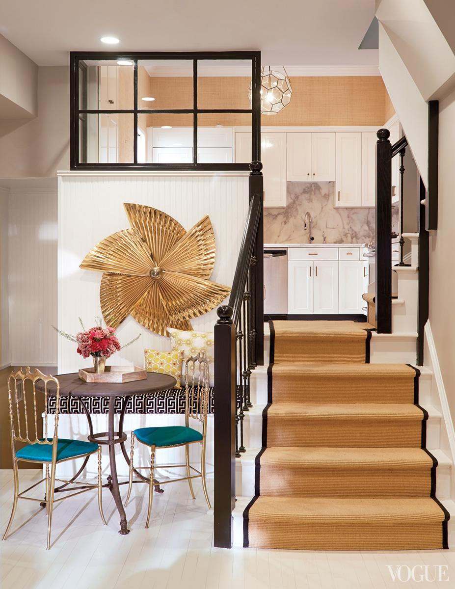 Supermodel Karlie Kloss at home in the West Village. Interior design by Nate Berkus